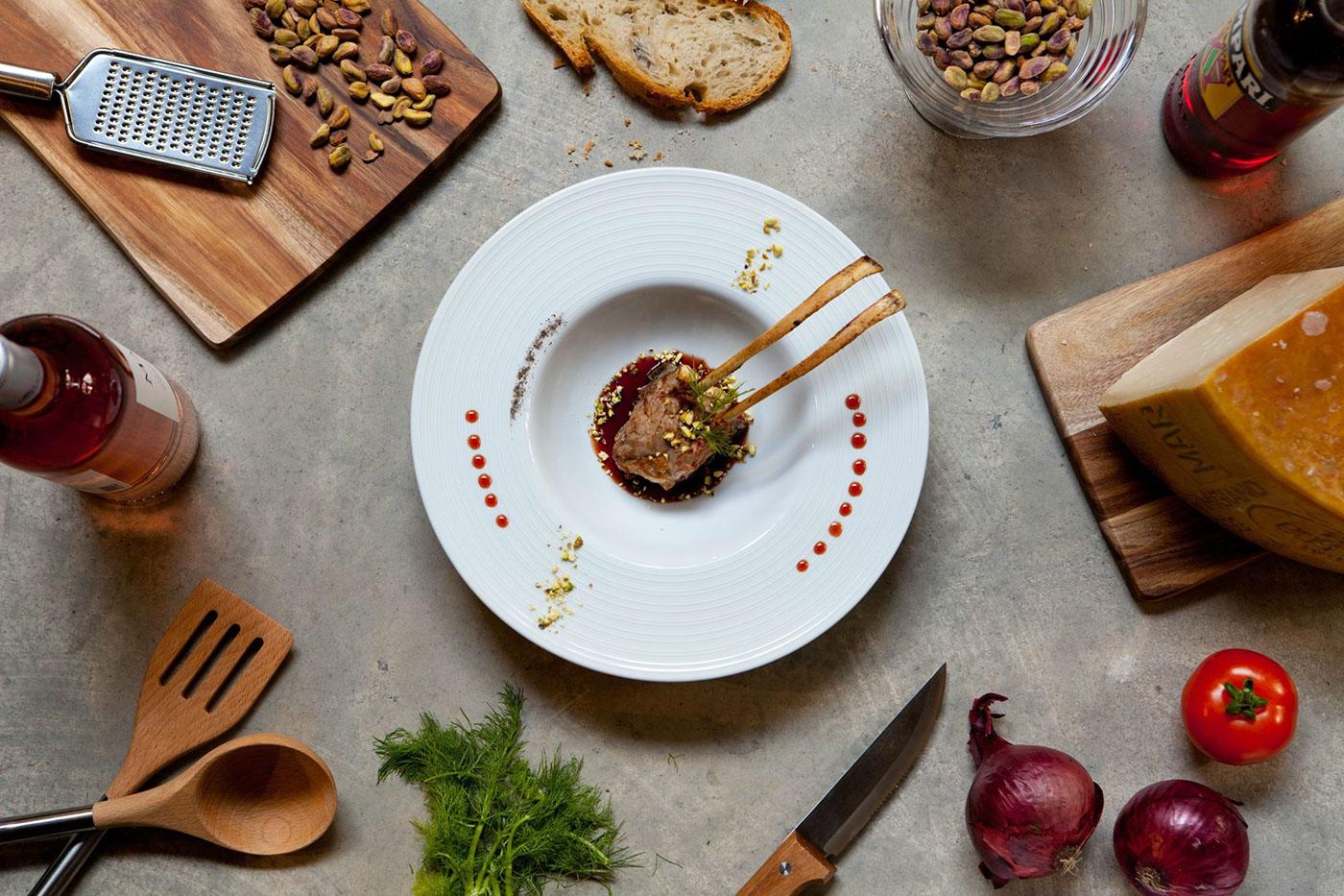 Красивая еда / Food Photography by Darna Restaurant / фото Francesc Bosch