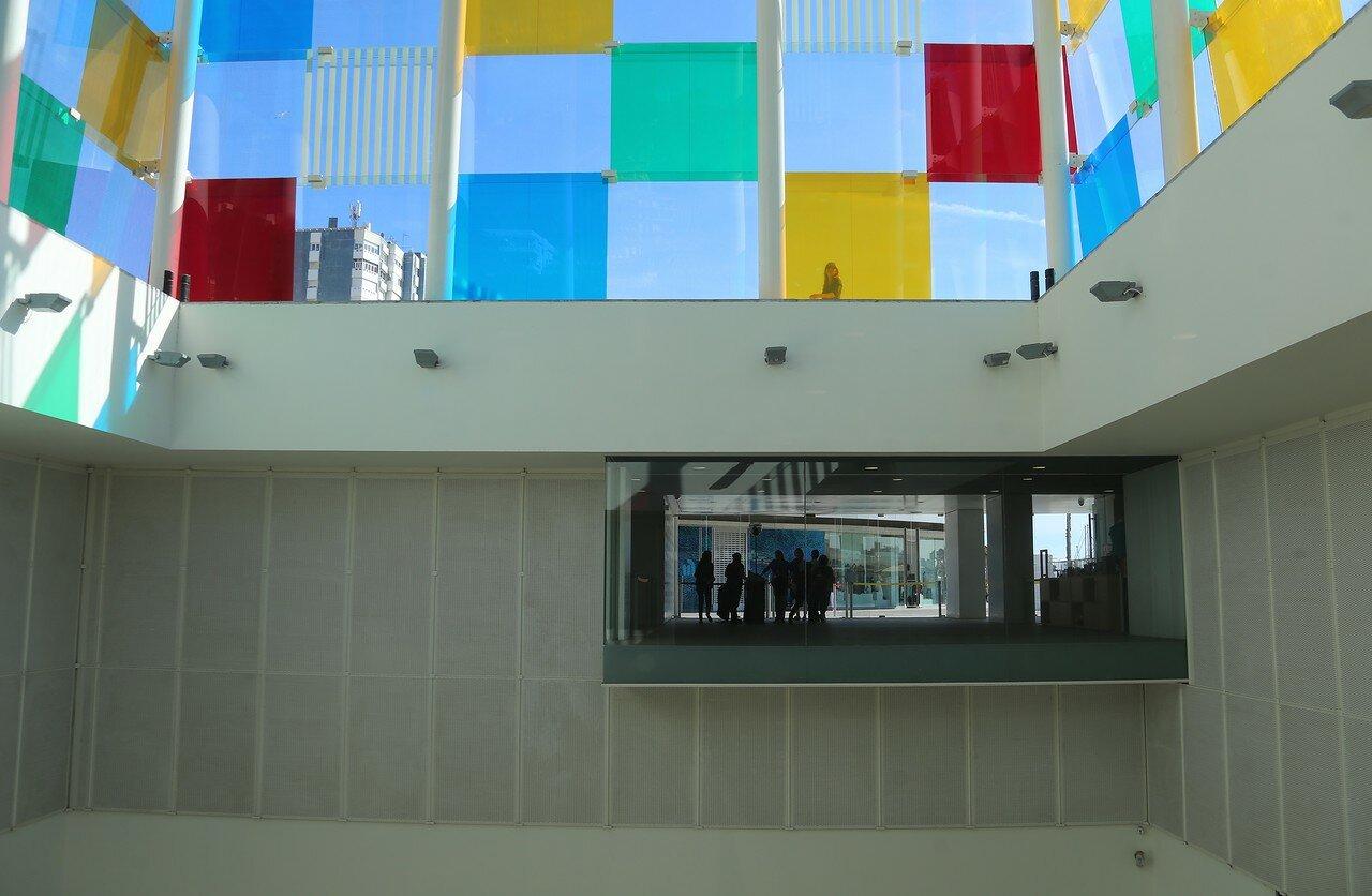 Малага. Центр Помпиду (Centre Pompidou Málaga)