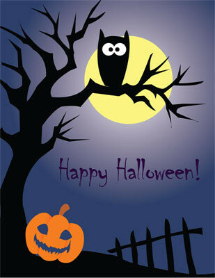 Happy Halloween Originale Saluto Immagine - Gratis, belle dal vivo auguri