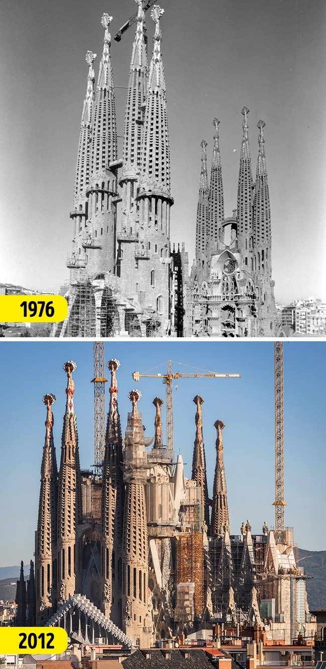 © Basilica de la Sagrada Familia  © Basilica de la Sagrada Familia   Древний город Пе
