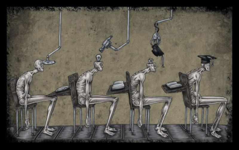 Аргентинский иллюстратор нарисовал современное общество таким, какое оно есть, без прикрас (20 фото)