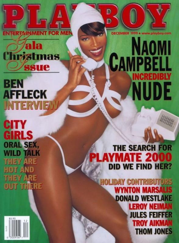 1999 год.   «Черная пантера» Наоми Кэмпбелл стала первой и единственной чернокожей моделью, поя