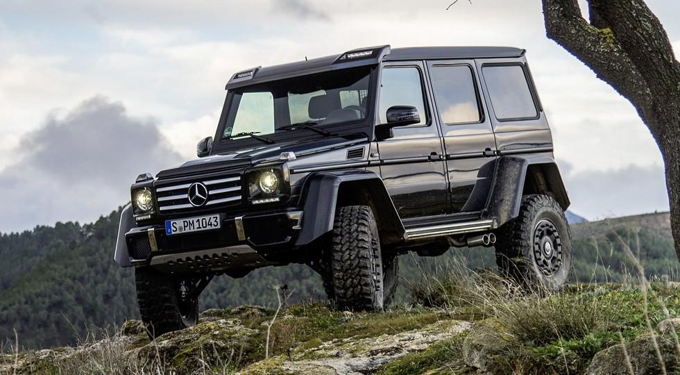 Mercedes сворачивает производство G 500 4×4? (1 фото)