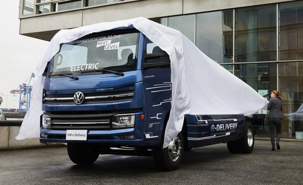 Volkswagen выпустит электрогрузовик E-Delivery на рынок в 2020 году (1 фото)