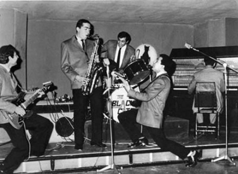 16. Иранская рок-джаз-группа под названием «Черные коты» (the Black Cats). Courtesy of Kaveh Farrokh