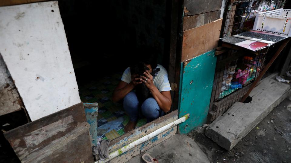 Ночная жизнь в трущобах Филиппин