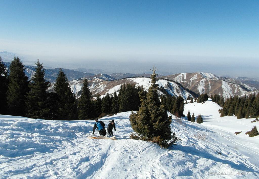 Горка в горах, Фурмановка.