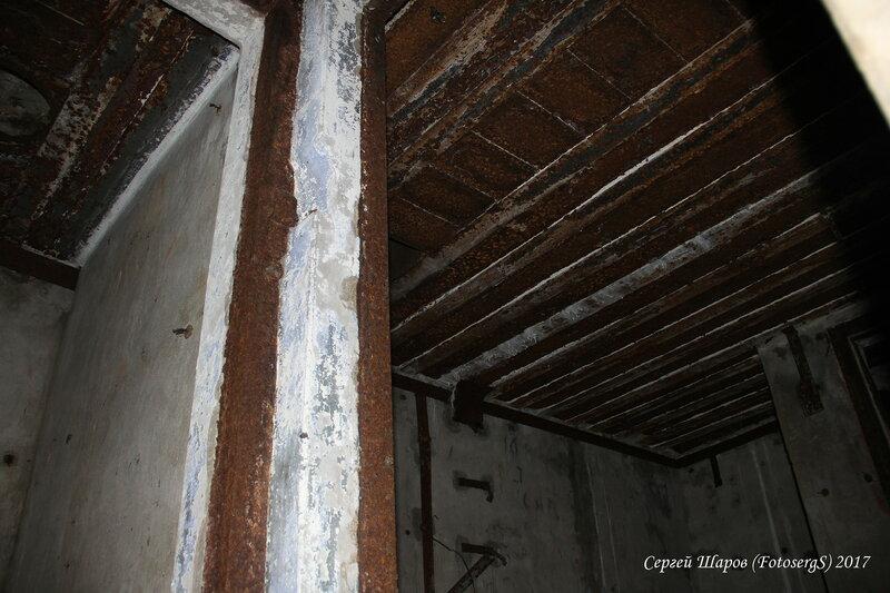 Противооткольная защита потолка