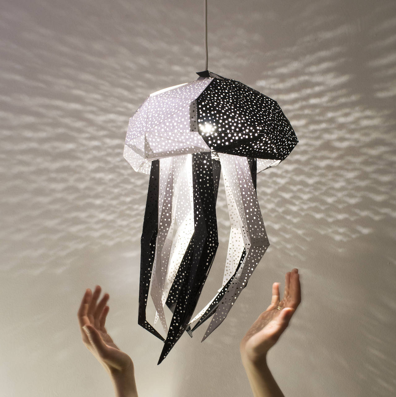 DIY Papercraft Light Shades of Aquatic Life by Vasili
