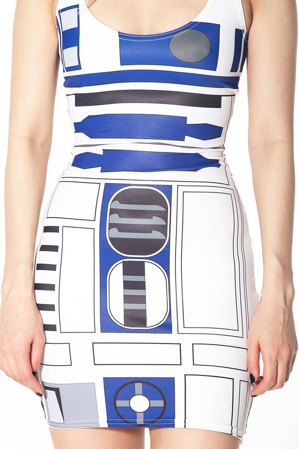 Black Milk R2D2 Star Wars Dress - Sexy Geek