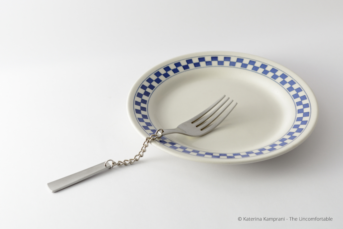 The Uncomfortable by Katerina Kamprani