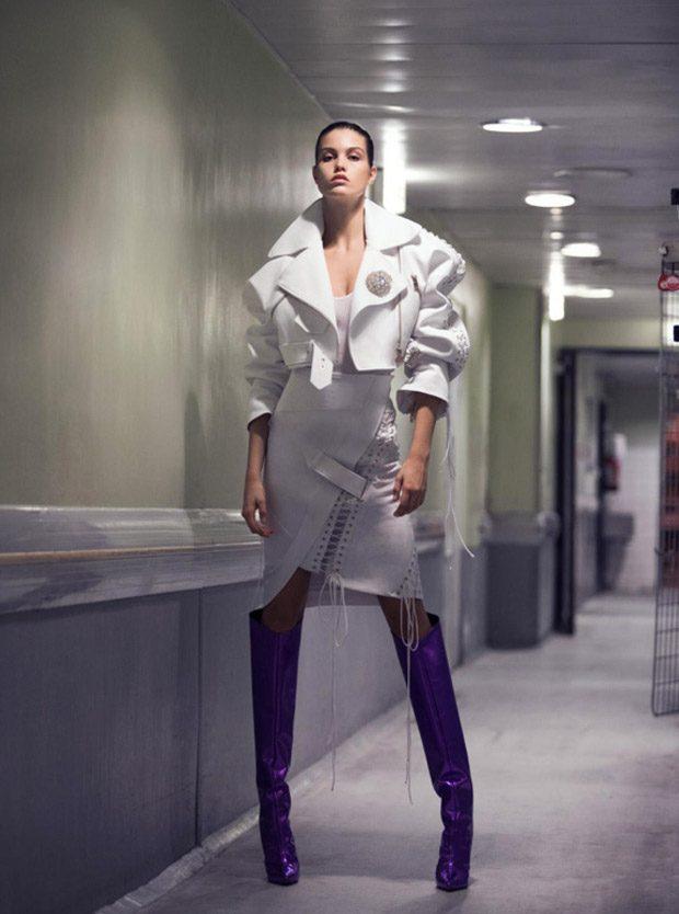 ALEXANDRE VAUTHIER Spring Summer 2018 Womenswear Collection
