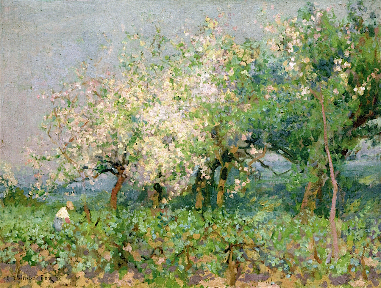 3 Emanuel Phillips Fox     Apple Blossoms.jpg