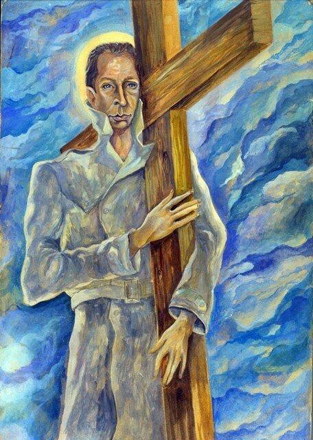 Олег Ефремов, рисунок Юрия Богатырева, 1971 год. Из личной коллекции Р.В.Ленской