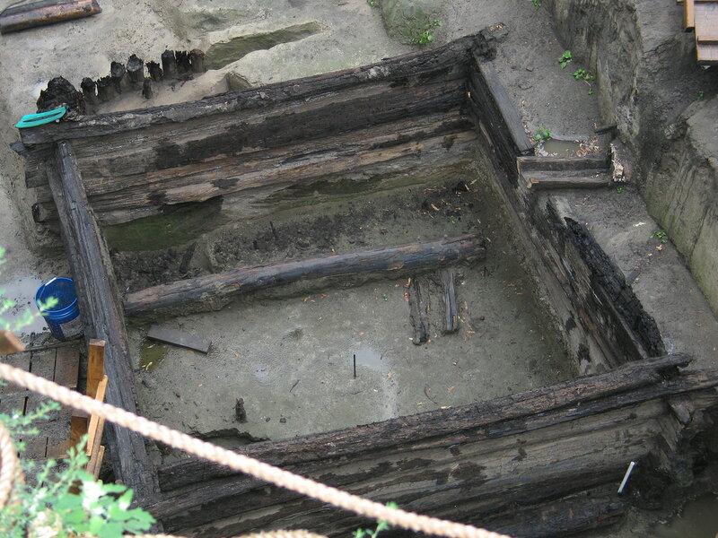 Раскопки на Подоле Московского Кремля. 2007
