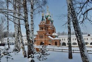 В Сольбинском монастыре. Храм свт.Спиридона Тримифунтского