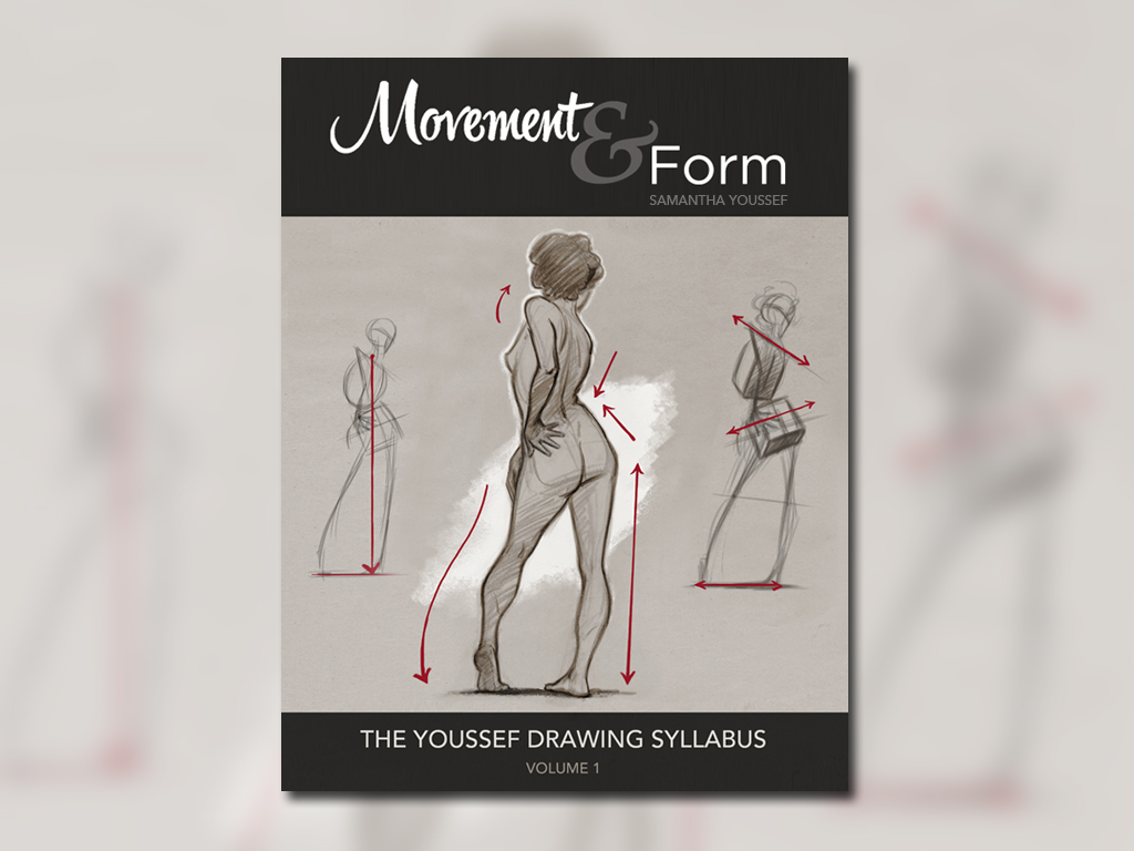 The Youssef Drawing Syllabus – Movement & Form (5 pics)