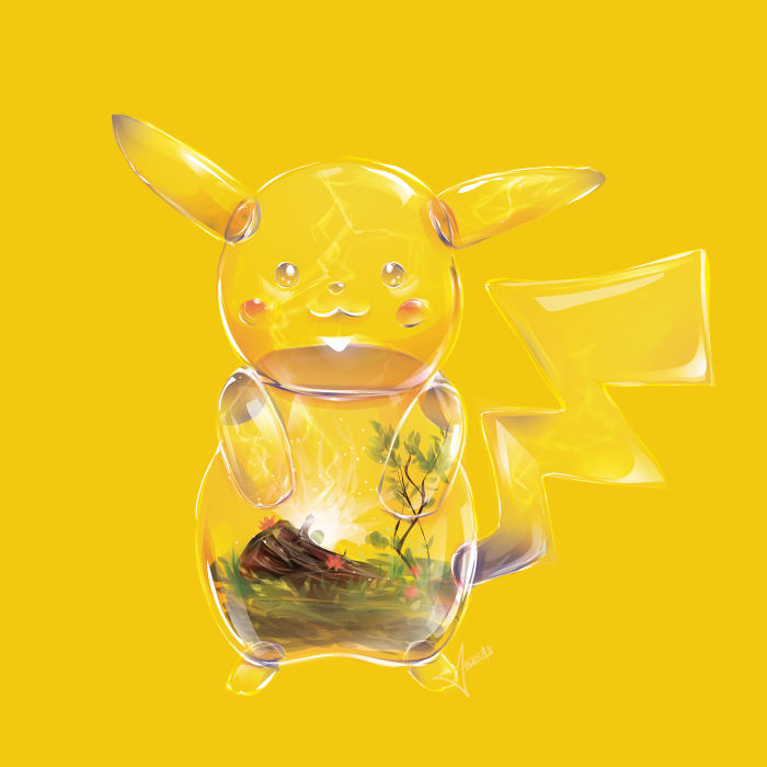 Artist Starmanda Creates Original Pokemon As Terrariums (7 pics)