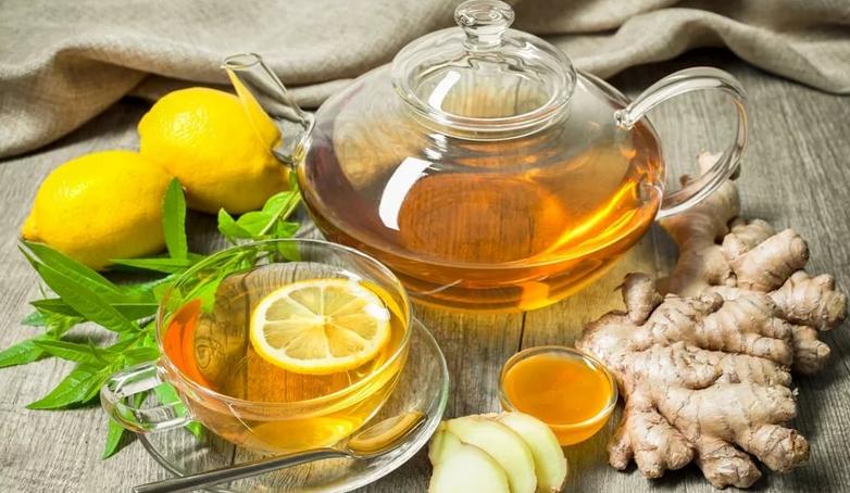 чай с имбирем лимоном и медом, чай с имбирем лимоном и медом рецепт
