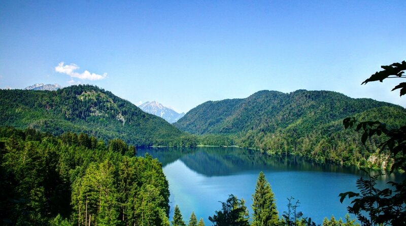 Landscape of Alpsee