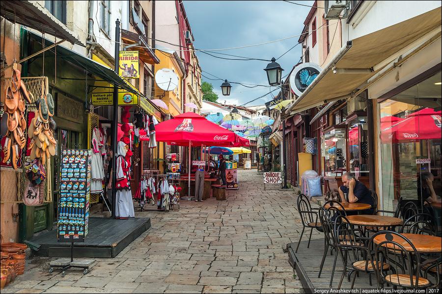 Столица Македонии - Скопье