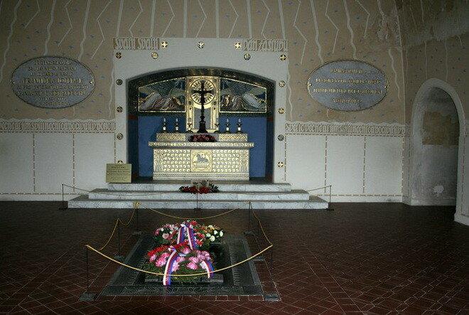 Мемориал Могила Мира. Чехия