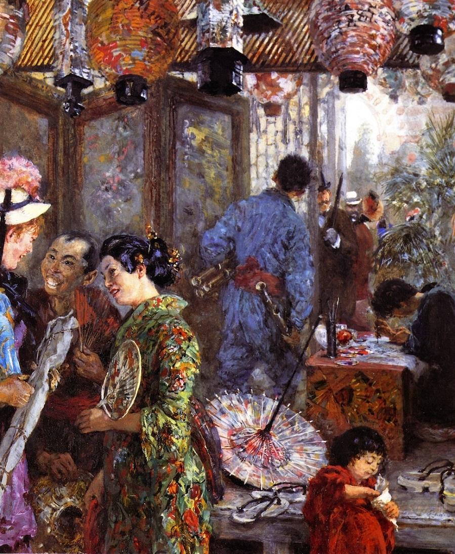 Japanese Painter.
