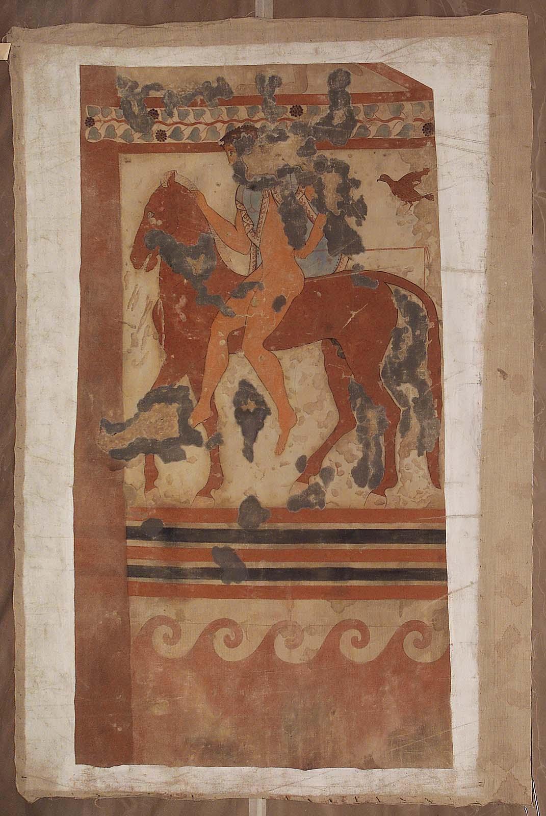 Гробница Триклиния. Южная стена