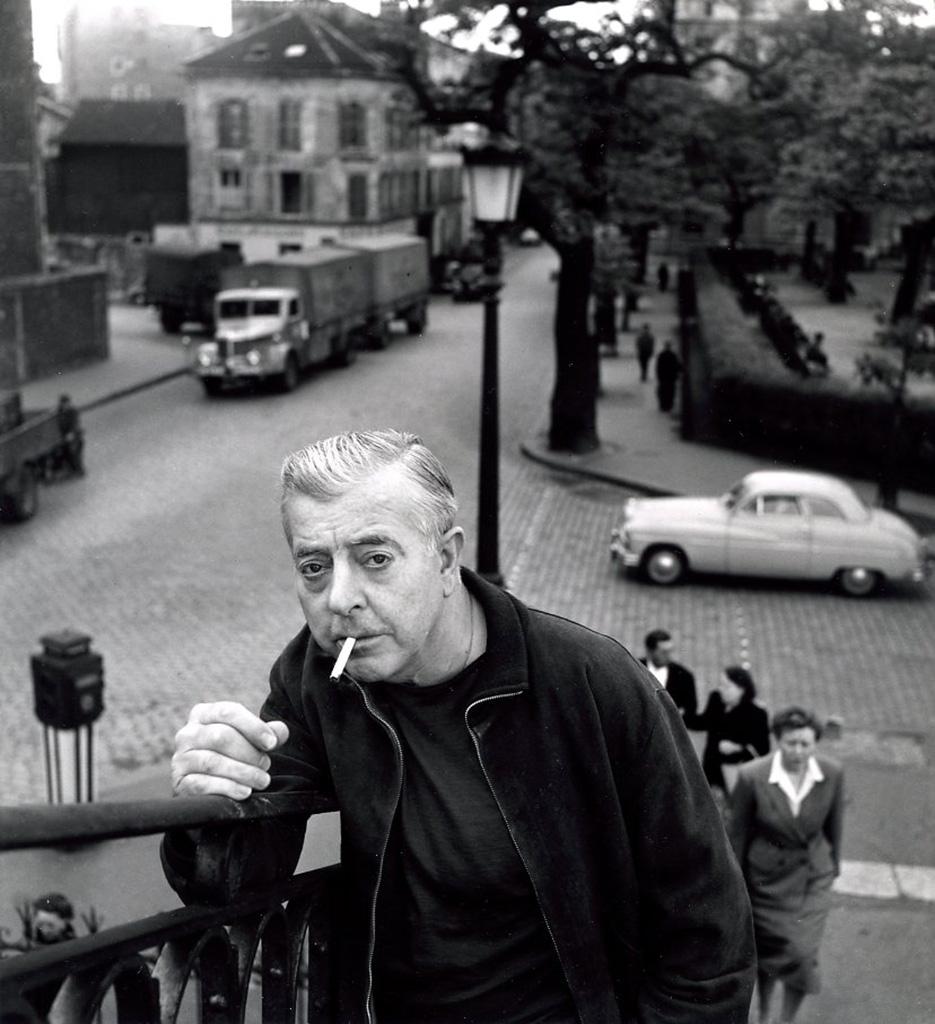 1955. Жак Превер на Крымском мосту