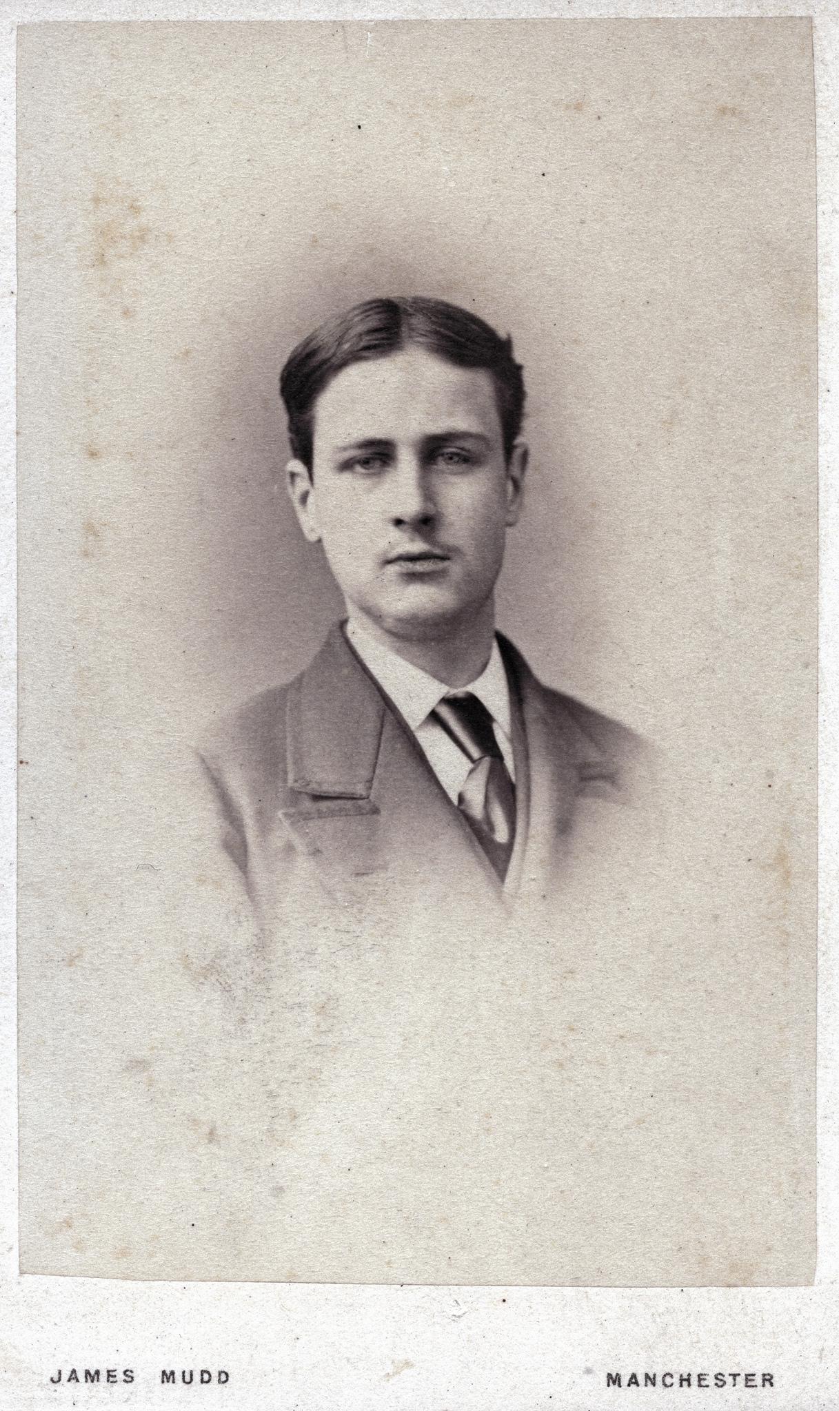 1870. Молодой человек