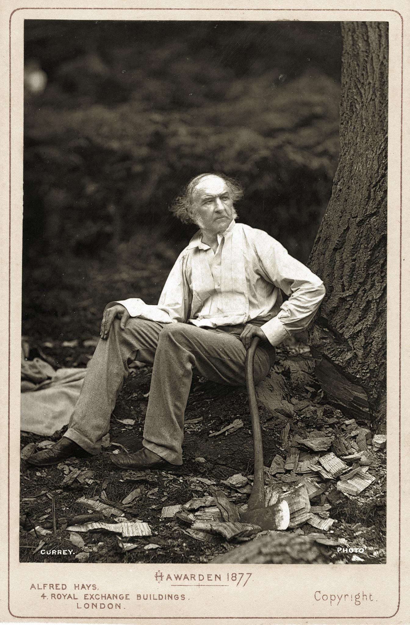 1877. Уильям Гладстон