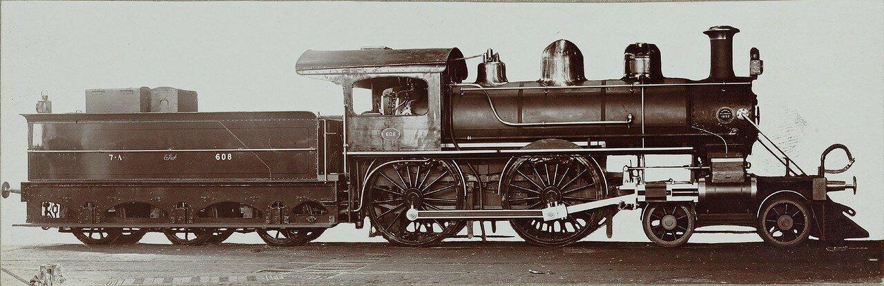 1910-1920. Локомотив № 18152 компании «Burnham, Williams A Co.» из Филадельфии