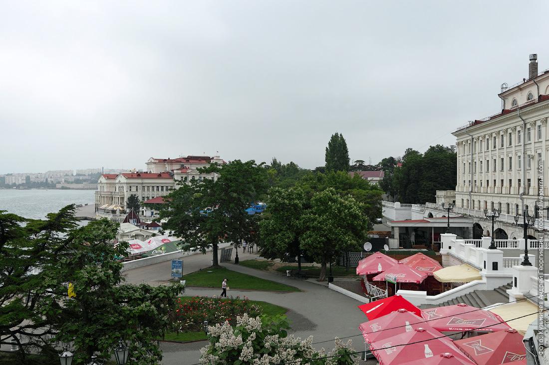 утренний Севастополь