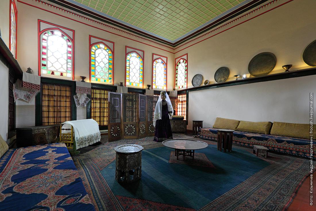 Крым Ханский дворец Жилая комната гарема
