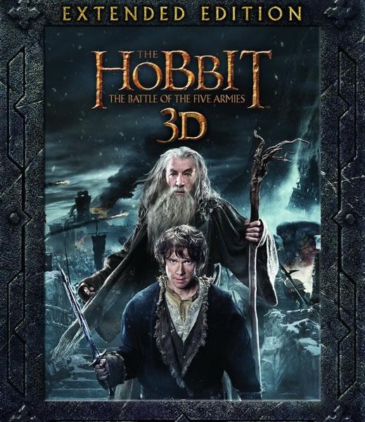 Хоббит: Битва пяти воинств [Расширенная версия] / The Hobbit: The Battle of the Five Armies [EXTENDED] (2014/WEB-DL/WEB-DLRip)
