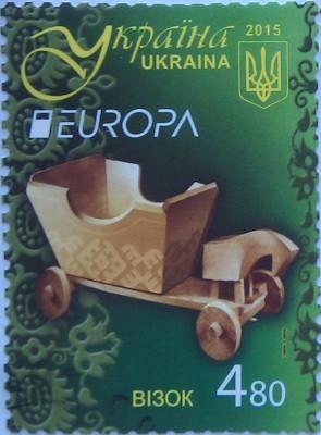 2015 N1443-1444 Игрушки Европа CEPT СЕРИЯ возок 4.80