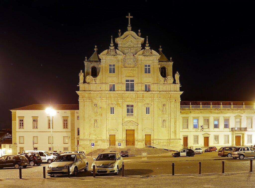 Ночная Коимбра. Новый собор (Sé Nova de Coimbra)