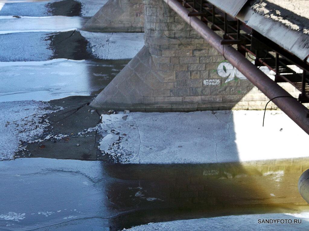 О состоянии льда на реке Увельке в фотографиях