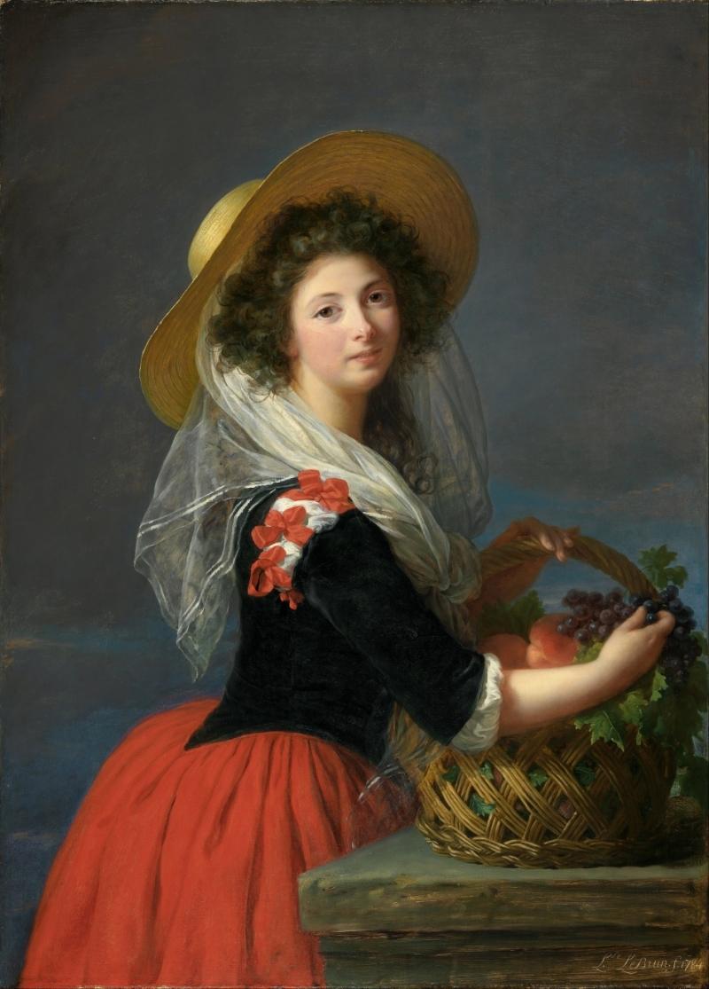 Portrait of Marie Gabrielle de Gramont, Duchesse de