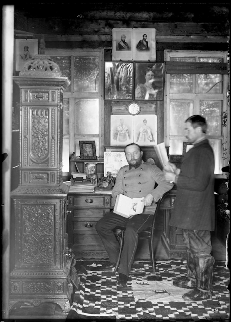 Кабинет Анадырского губернатора, Яропольская ярмарка, Марково. 1901