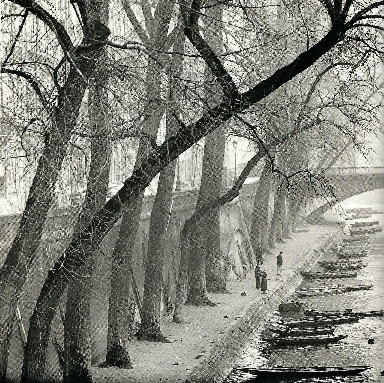 1953. Набережная Анжу, Париж