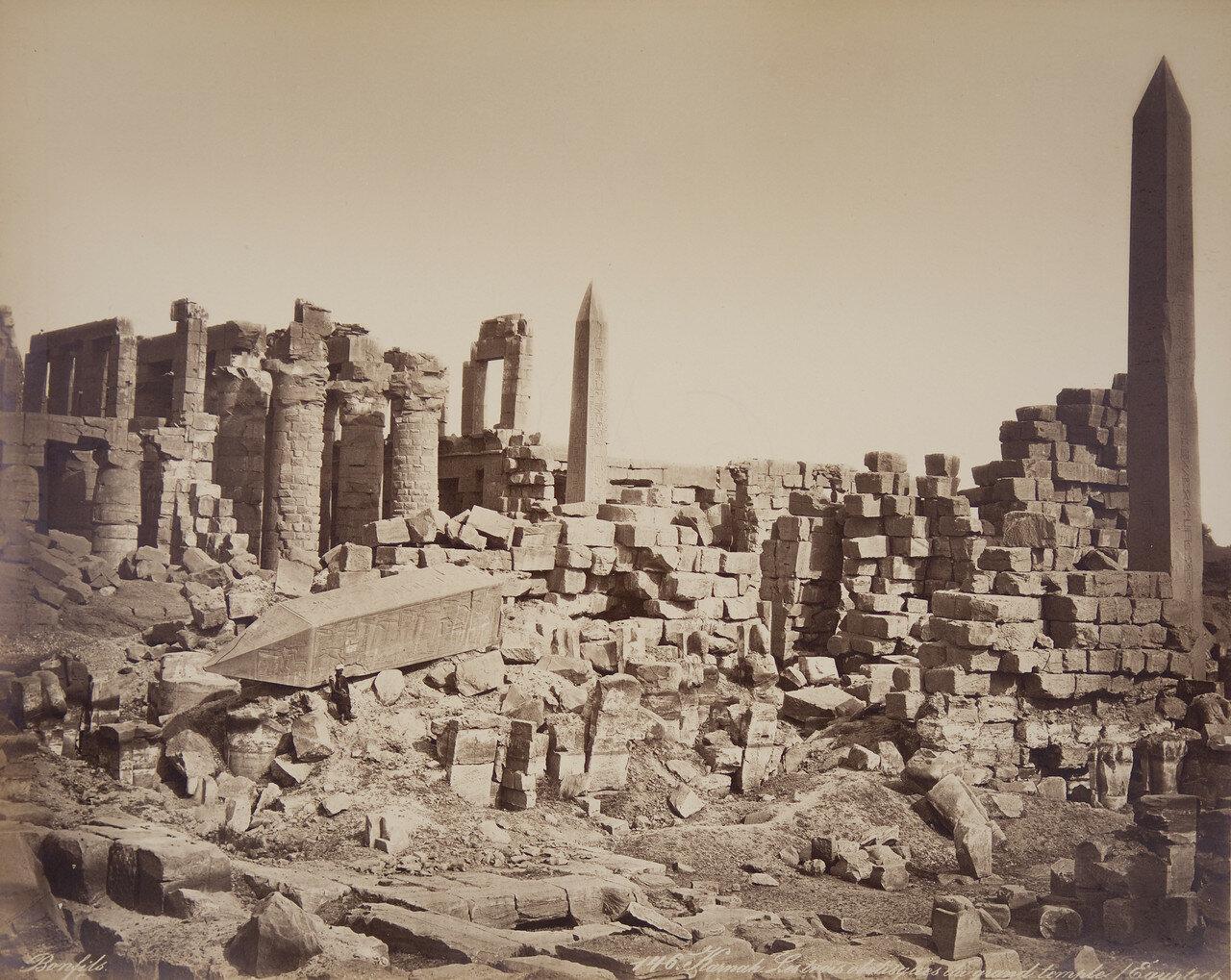 Карнак. Три обелиска Великого храма