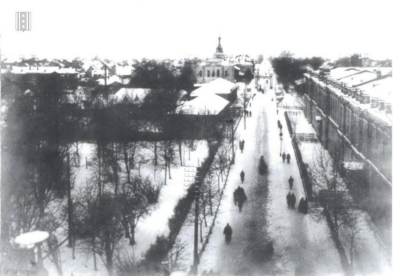 Колпино. Вид на Царскосельский проспект