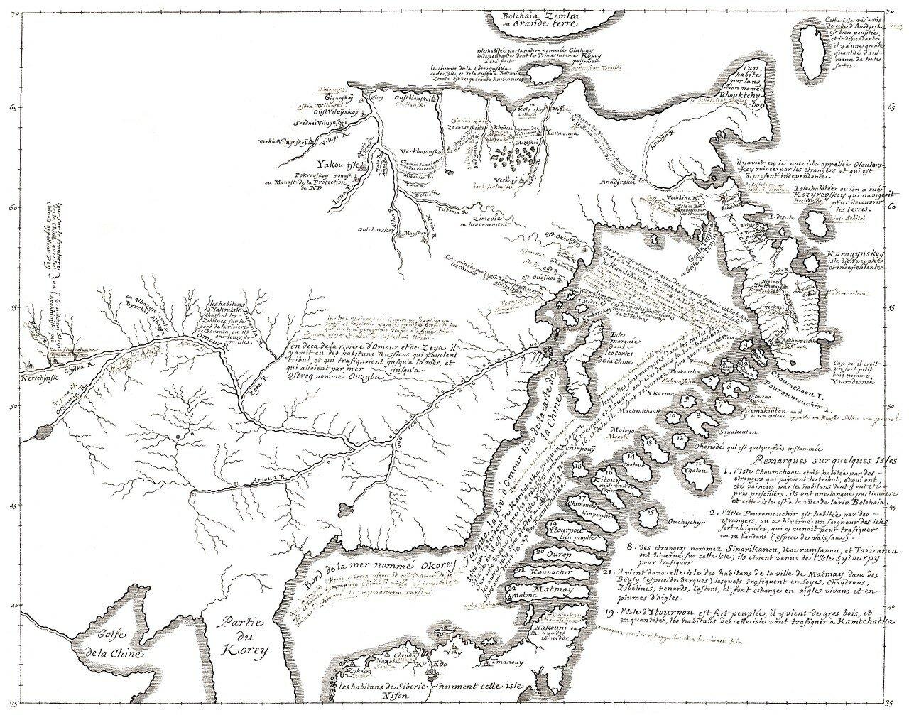 38. Карта Дальнего Востока