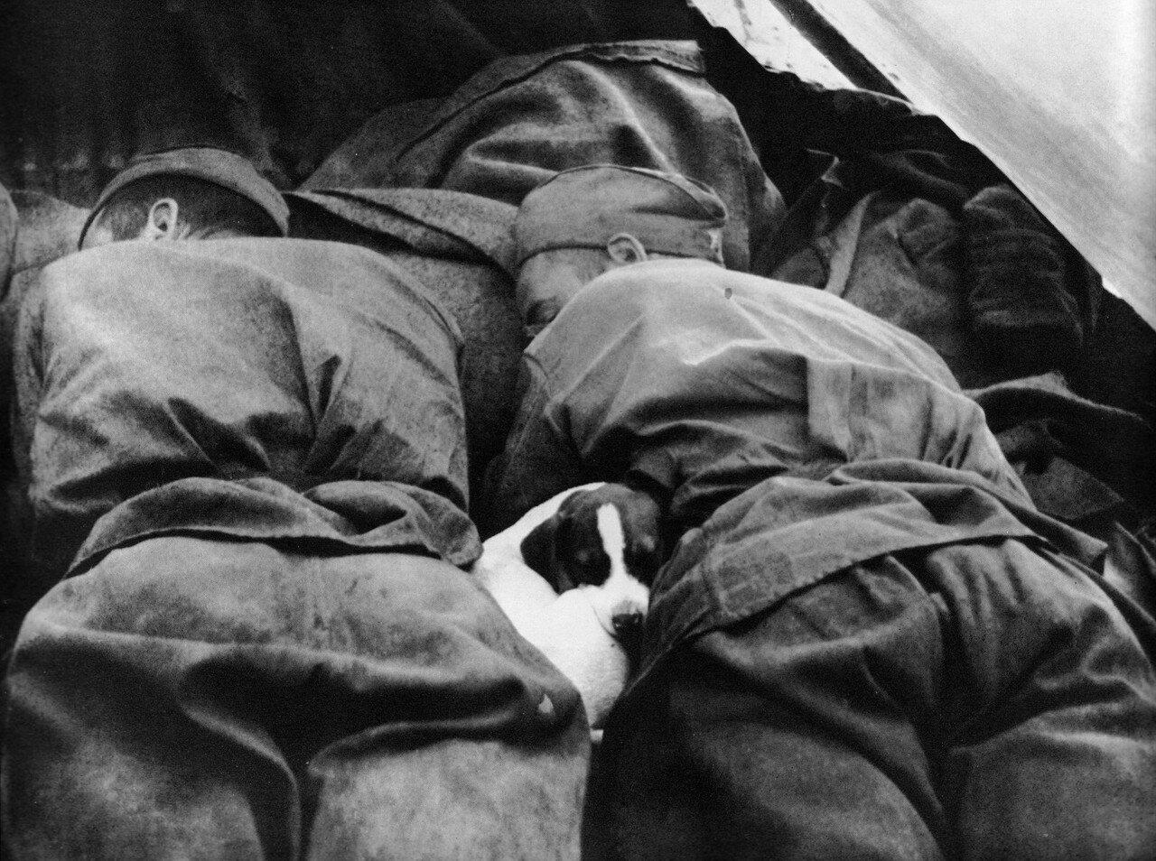 1945. Чехословакия. Фотограф Георгий Липскеров