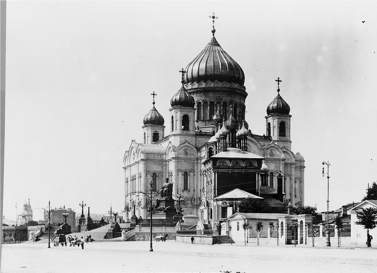 627. Вид на Храм Христа Cпасителя