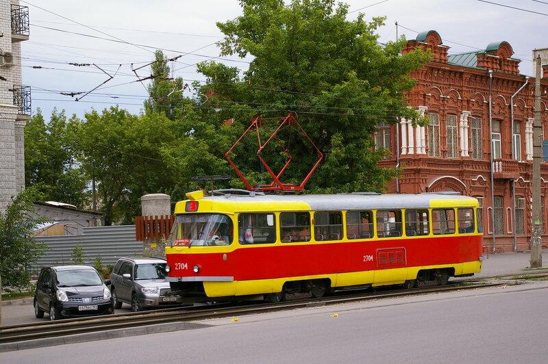 Anna-Stasja. вывесила фотку.  26 ноября 2009 года,22:29.  Приглашаю всех в Волгоград, покататься на трамвайчике...