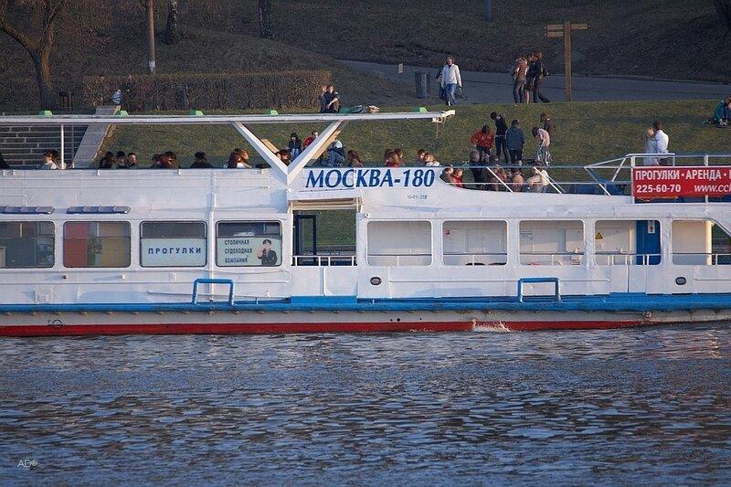 Теплоход «Москва-180»