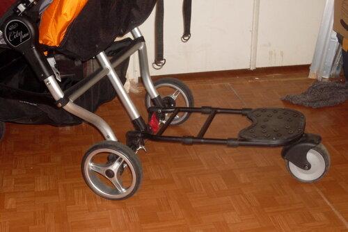 Как сделать подножку к коляске своими руками