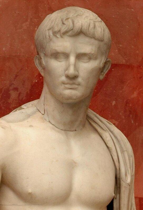 Август в образе Юпитера